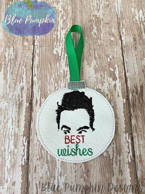 Best Wishes David Ornament