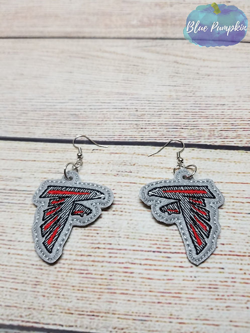 Falcons Earrings