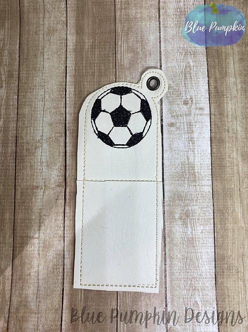 Soccer Chapstick Holder