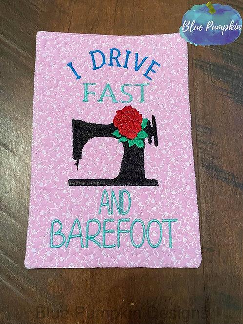 Drive Fast Mug/Snack Mat