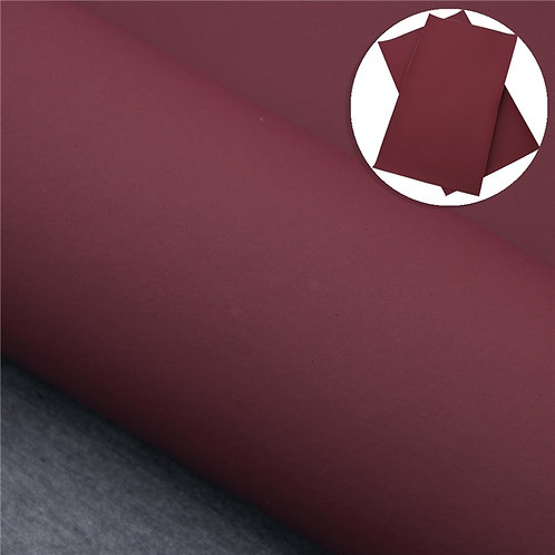 Plain Red Wine Embroidery Vinyl