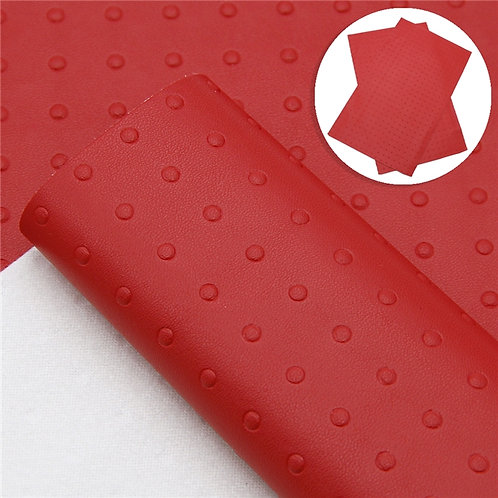 Red with nub Bumps Embroidery Vinyl