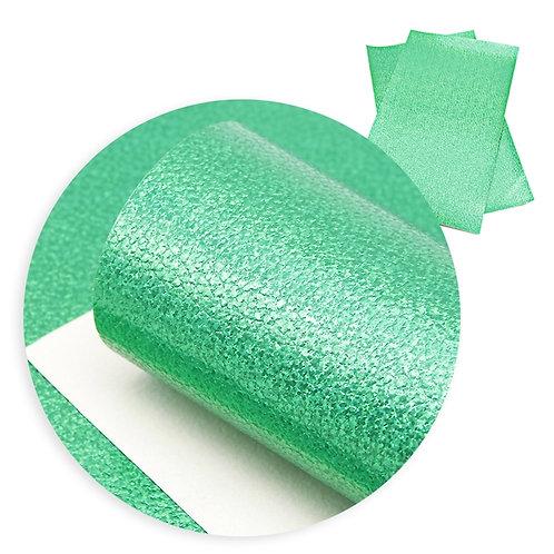 Bright Green w Blue Sparkles Embroidery Vinyl