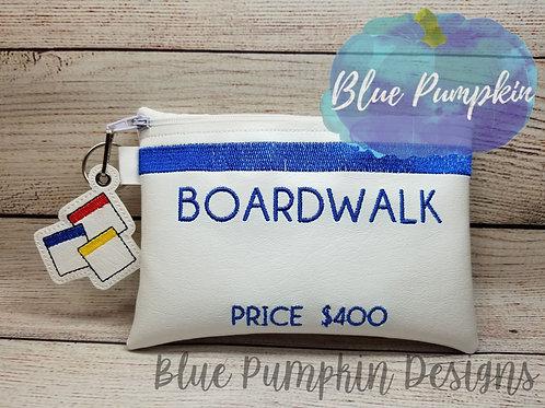 Boardwalk ITH Zipper Bag Design