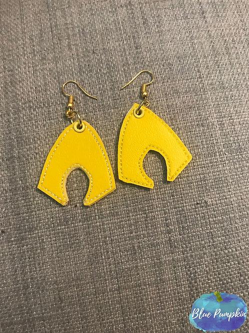 Aquaman ITH Earring Design