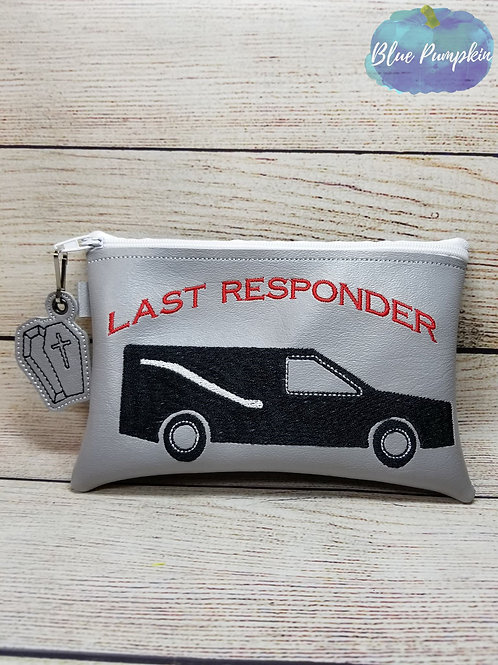 Last Responder ITH Zipper Bag Design