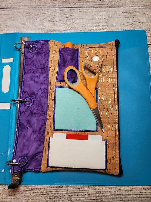 Command Center Zipper Bag Design