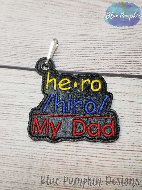 Dad Hero Key Fob