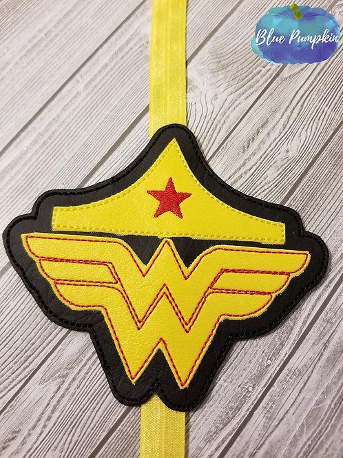 Wonder Woman with Tiara Planner Band