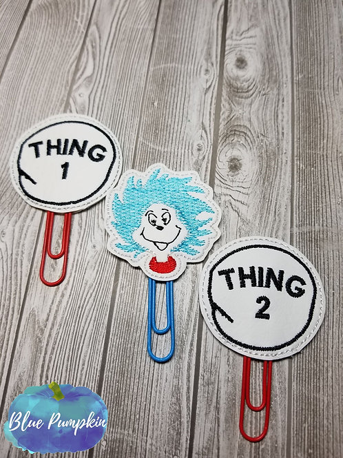 Thing Paper Clip Toppers