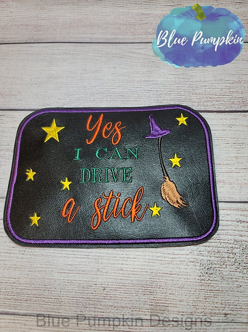 Drive Stick 5x7 ITH Mouse Pad Design