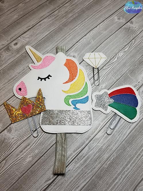 Unicorn Set of Clip Planner Band