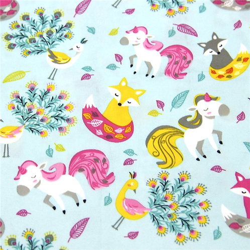Waterproof Fox and Unicorn Printed Embroidery Vinyl