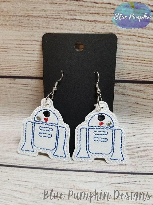 R2 Robot Earrings