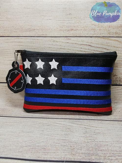 Fire Flag ITH Zipper Bag Design