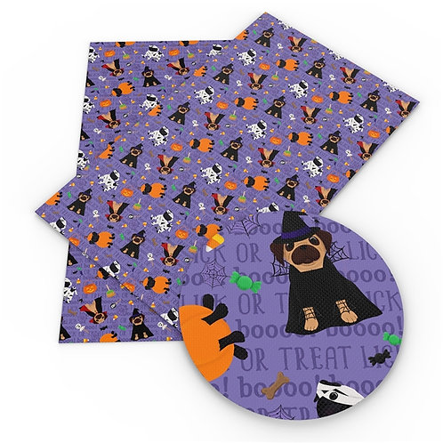 Costumes w Dog Halloween Printed Embroidery Vinyl