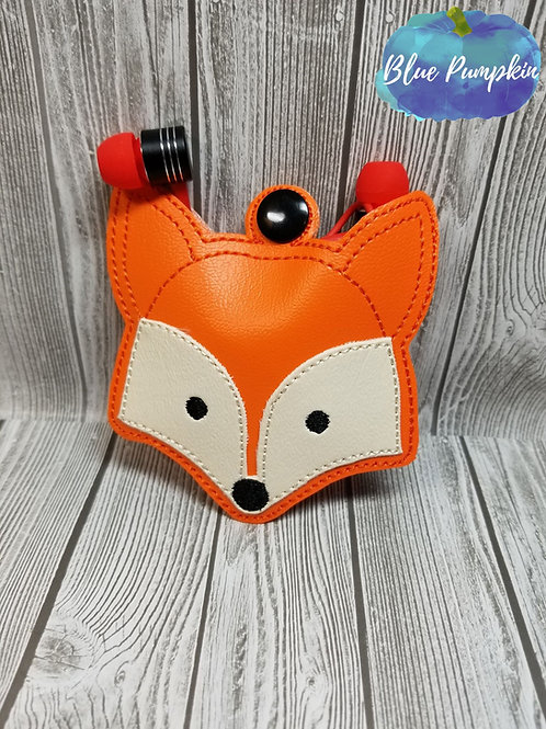 Fox Earbud Holder