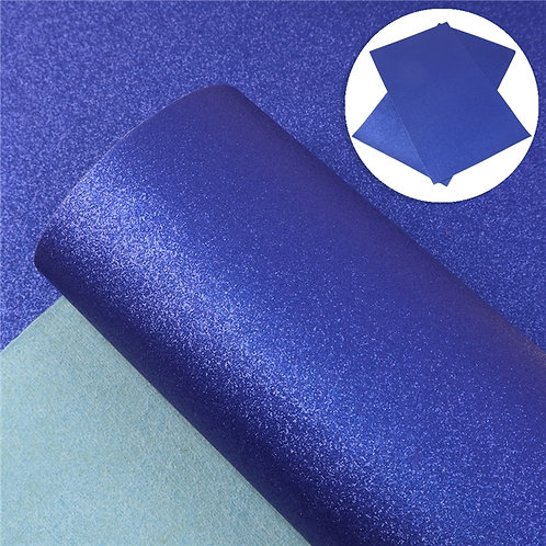 Blue Shimmer Embroidery Vinyl