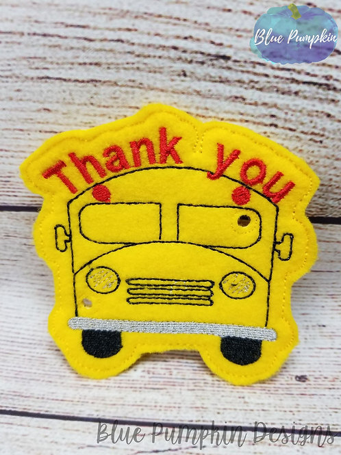 Bus Driver Lollipop/pencil Holder