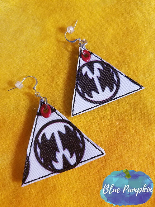 Single Triangle Earrings Design