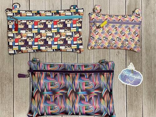 Crossbody Set Zipper Bag Design