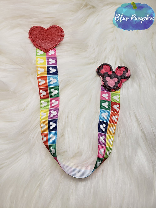 Mouse and Heart Bookmark