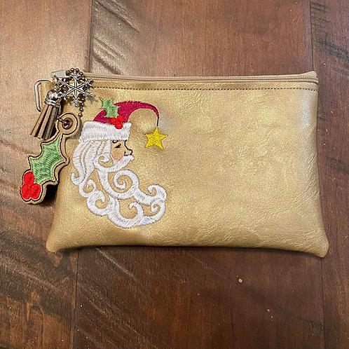 Crescent Santa 5x7 ITH Bag Design