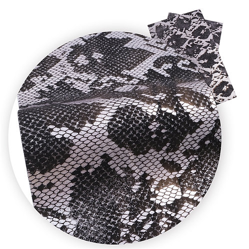 Grey Snake Embroidery Vinyl