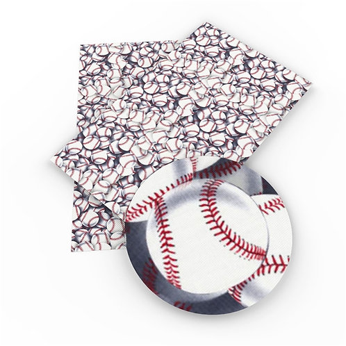 Baseballs Embroidery Vinyl