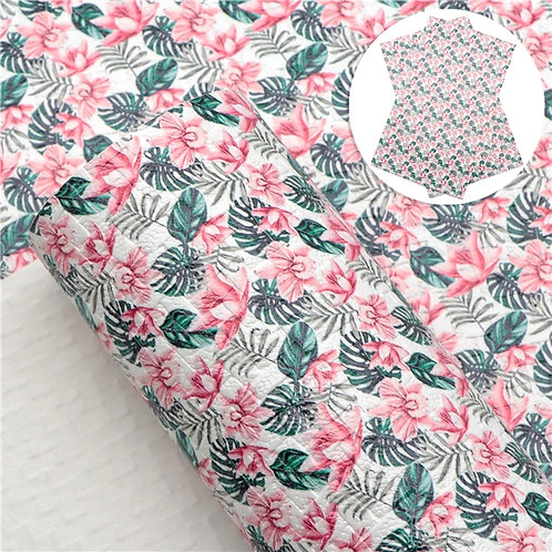 Woven Tropical Embroidery Vinyl