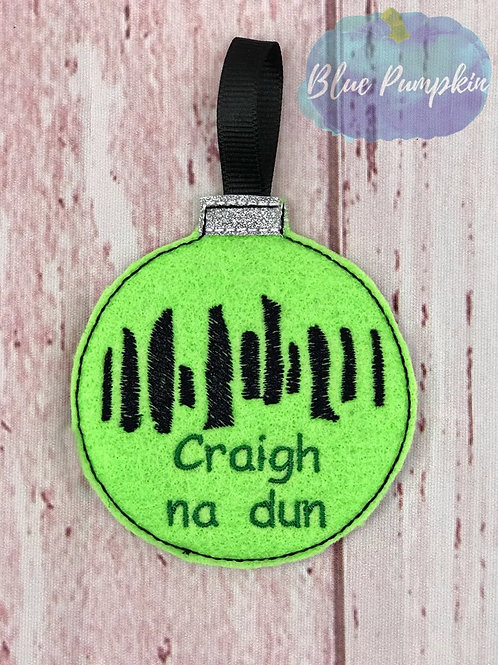 Craigh na dun Ornament Design