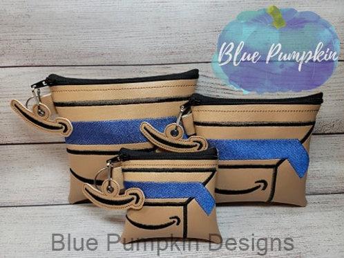 3 Size Box Set Zipper Bag Design