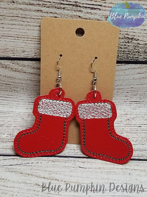 Stocking Earrings