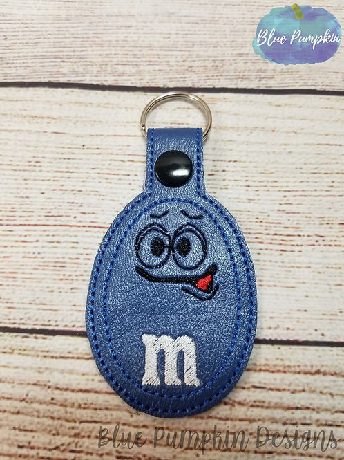 Blue Candy Key Fob