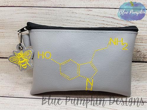 Be Happy Serotonin ITH Zipper Bag Design