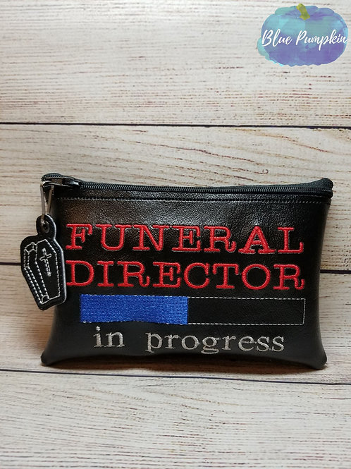 Funeral Progress ITH Zipper Bag Design