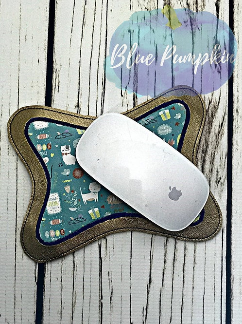 5x7 ITH Swoopy Applique Mouse Pad Design