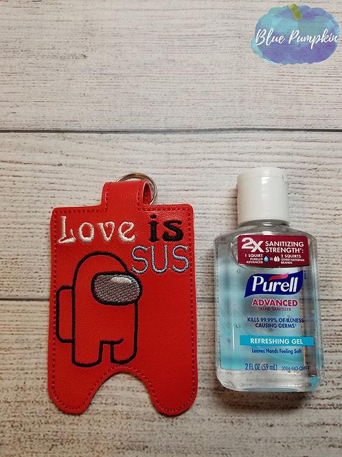 2oz Love is SUS Sani Bottle Holder