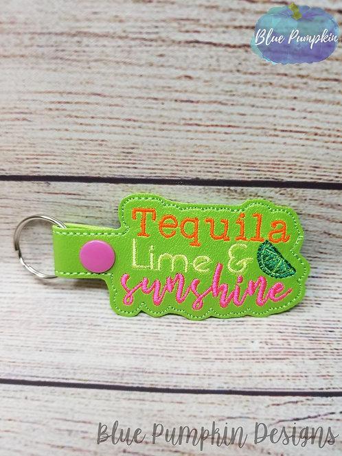 Tequila Lime Sunshine Key Fob