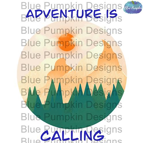 Adventure Sublimation Design