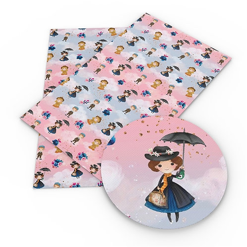 Cute Nanny Embroidery Vinyl
