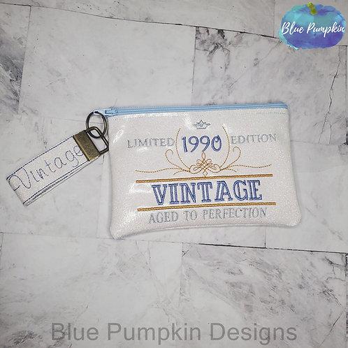 BLANK Vintage Set Zipper Bag Design