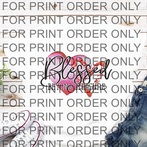 Blessed SUBLIMATION PRINT