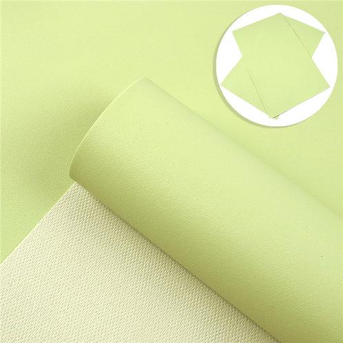 Light Green Sheep skin Embroidery Vinyl