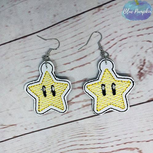 Game Star Earrings