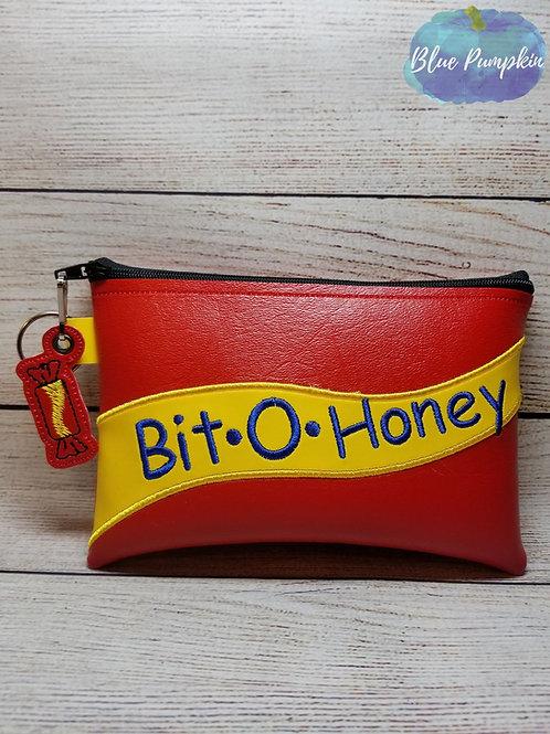 Bit Honey ITH Zipper Bag Design