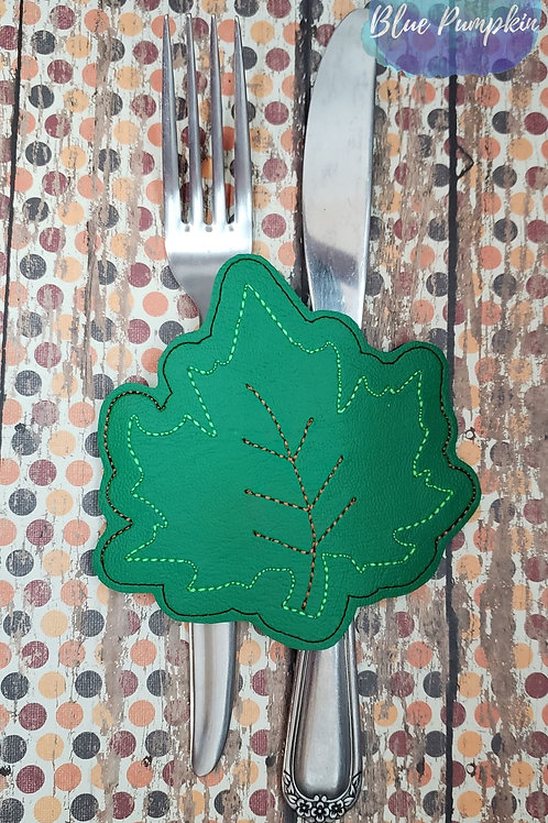 Leaf Silverware Holder