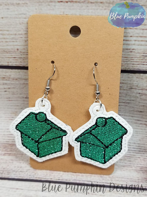 House Game Pieces Earrings