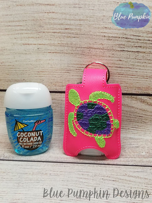 Sea Turtle Hand Sanitizer Holder