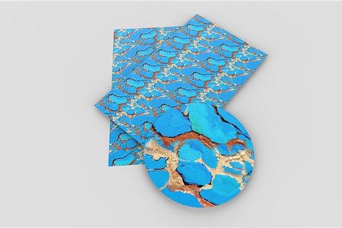 Blue Stone w Glitter Embroidery Vinyl